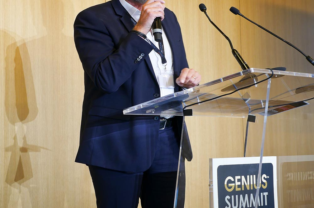 conférencier genius summit