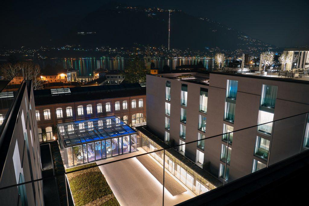 hotel hilton nuit genius summit