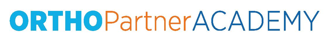 logo ortho partner academy